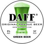 Daff Beer - Green Beer