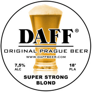 Daff Beer - Super Strong Blond