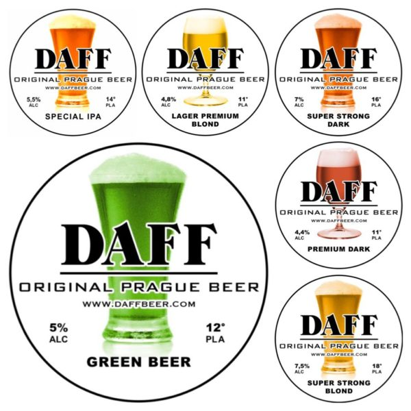 Etichette Box Degustazione 12 bottiglie birra Daff