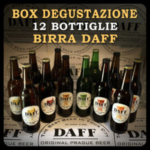 Box Degustazione 12 bottiglie birra Daff