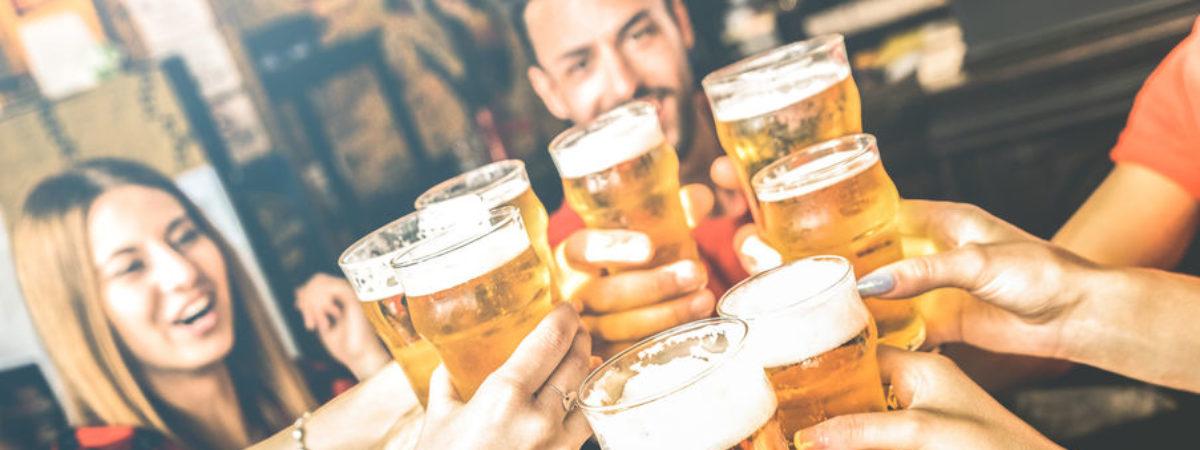 Birra con amici